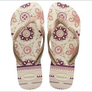 Havaianas Sandals Rose Gold